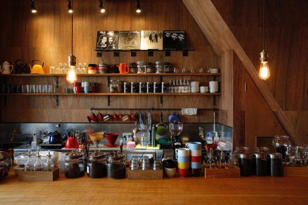 リノベーション コーヒーショップ