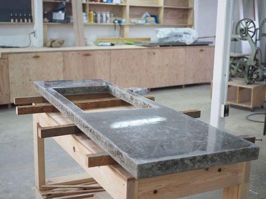 DIY_コンクリート天板_キッチン