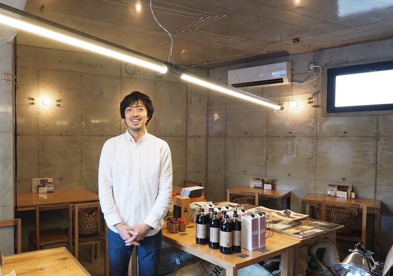 名古屋覚王山_リノベーション事例_BASE COFFEE01